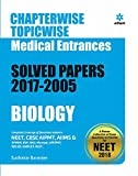 Chapterwise Topicwise Solved Papers Biology for Medical Entrances