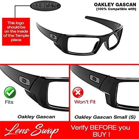 7cb848aecf Amazon.com  ICE BLUE Oakley Gascan Lenses POLARIZED by Lens Swap. GREAT  QUALITY   FITS PERFECTLY. (Ice Blue)  Clothing