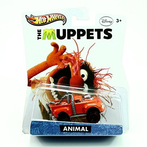 Hot Wheels The Muppets Animal Orange Truck (Beaker From Muppets)