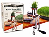 Living Whole Foods HJ Handy Pantry Manual Stainless steel Wheatgrass Juicer - Hurricane HJ