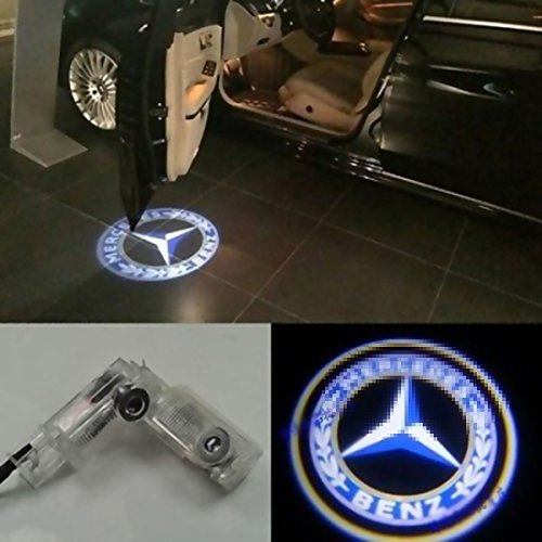 2X LED Door Courtesy Light Laser Shadow Logo Projector Lamp For Mercedes Benz W164 ML280 ML300 ML320 X164 GL320 GL350 GL420 W251 V251 R280 R300 R320 Welcome Light CNAutoLicht - Ship Usps To International Cost