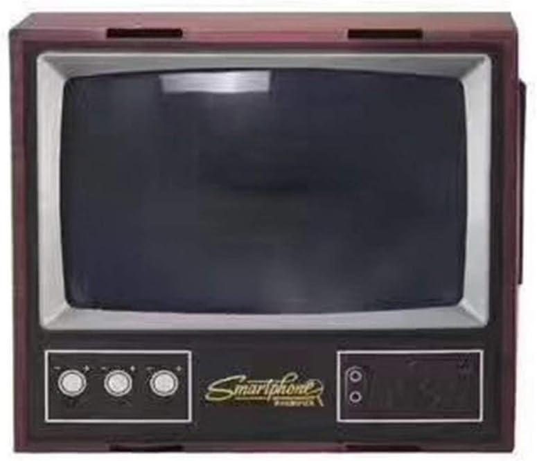 Vintage TV - Móvil de teléfono móvil con Pantalla de Lupa, Amplificador de vídeo, ampliador de vídeo, Soporte para televisor y Show: Amazon.es: Electrónica