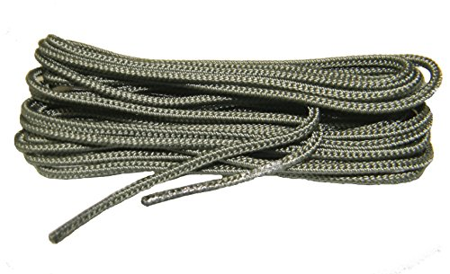 63 Inch USAF SAGE GREEN Nylon Speedlace for Tactical Combat Boot Laces Shoelaces (2 Pair Pack)