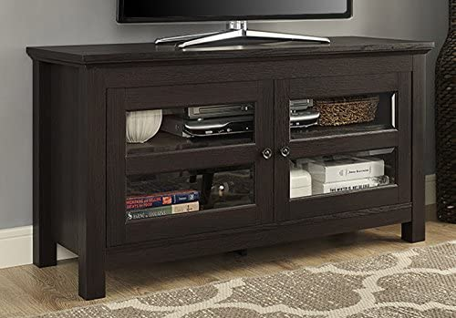 Walker Edison Furniture Simple Wood Universal Stand Review