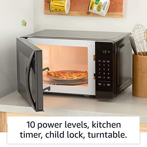 Amazon Basics Microwave Smart microwave Works with Alexa