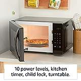 Amazon Basics Microwave, Small, 0.7