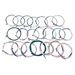 Yibuy Multicolour Steel Wire and Nylon 1...