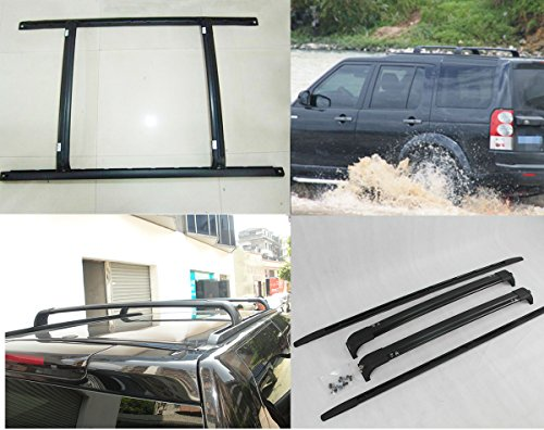 Baggage Roof Rack Rails for Land Rover Discovery3 4 LR3 LR4 2004-2016 Bar