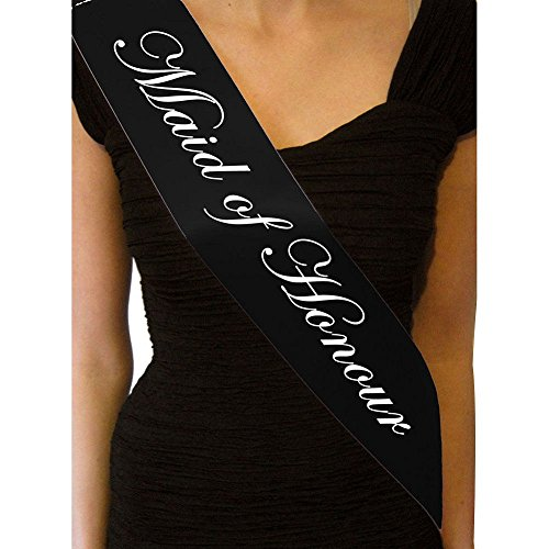 Taiguang Hen Party Bride to Be Bridesmaid Maid of Honor Sash Girl Night out Accessory]()