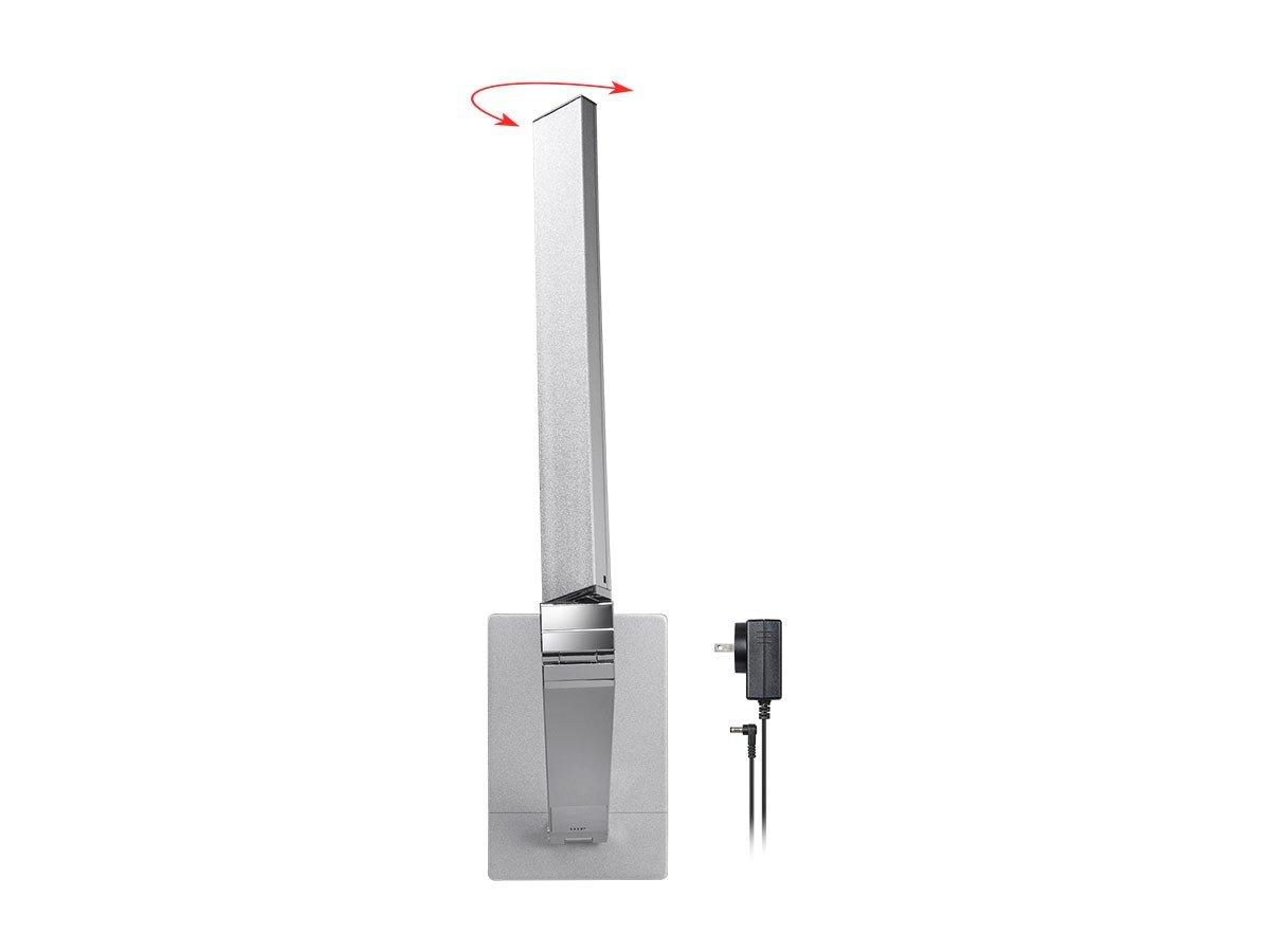Monoprice LED Aluminum Desk Lamp, Silver - (116365) by Monoprice (Image #4)