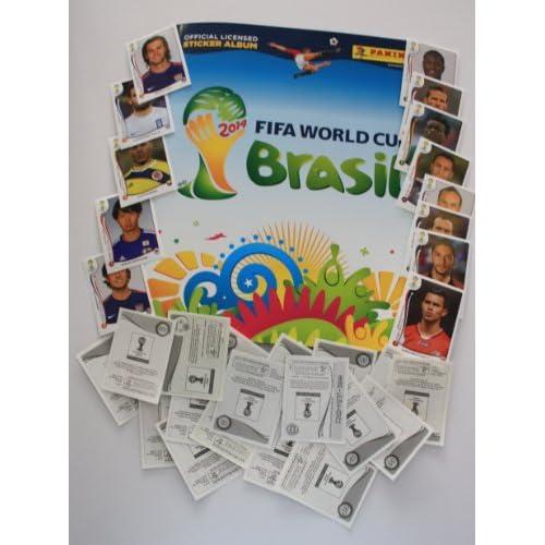 Panini Coupe du Monde 2014Brésil–Jeu complet de stickers + Album