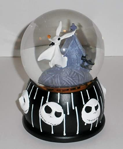 nightmare before christmas zero dog musical snow globe - Nightmare Before Christmas Snow Globes