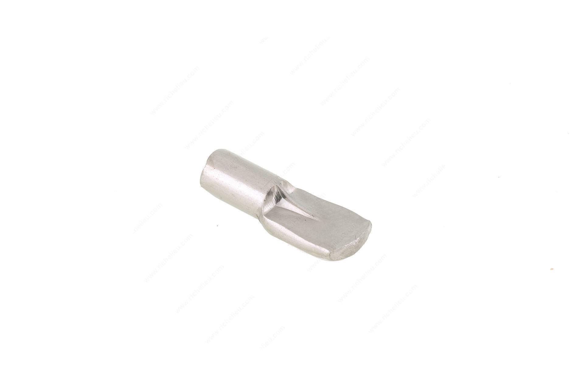 10pc Metal Shelf Pin with Stop, 3mm drill 1/8 in, Panel Thickness 16 mm, 19 mm, Load Capacity per Shelf 132 lb