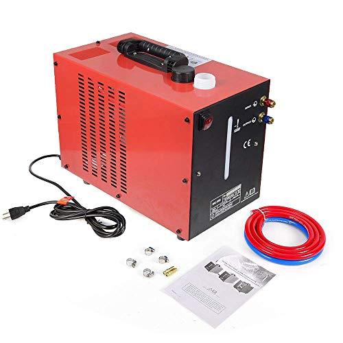 - Welder Water Cooler, 10L Tank Miller Cooler TIG Welder Torch Water Cooling Machine WRC-300A 110V (Red)
