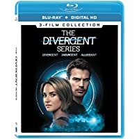 Deals on The Divergent Series 3-Film Collection Blu-ray