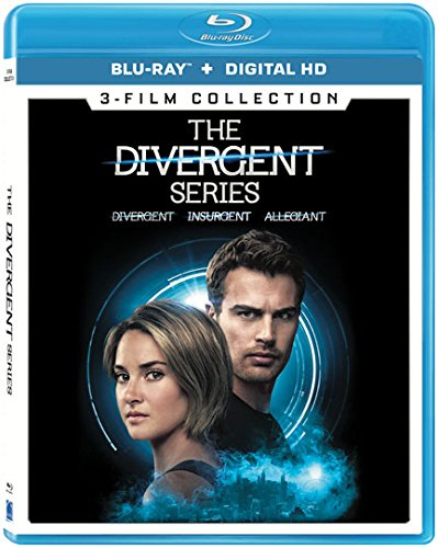 Blu-ray : The Divergent Series: 3-Film Collection (Widescreen, , AC-3, Digital Theater System, Digitally Mastered in HD)