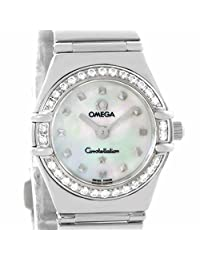 Omega Constellation quartz womens Watch 1465.71.00 (Certified Pre-owned)