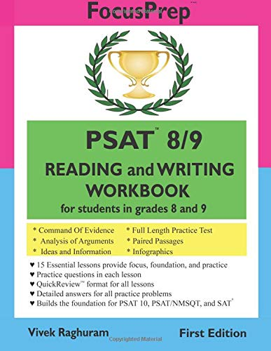 Psat 89 Reading And Writing Workbook For Students In Grades 8 And