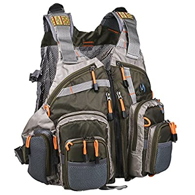 Maxcatch Fly Fishing Vest Pack (Fishing Vest/ Fishing Sling Pack/ Fishing Backpack)