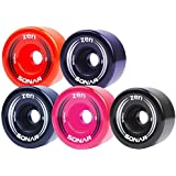 New! Riedell Sonar Zen Quad Outdoor Replacement Skate Wheels 8 Pack!