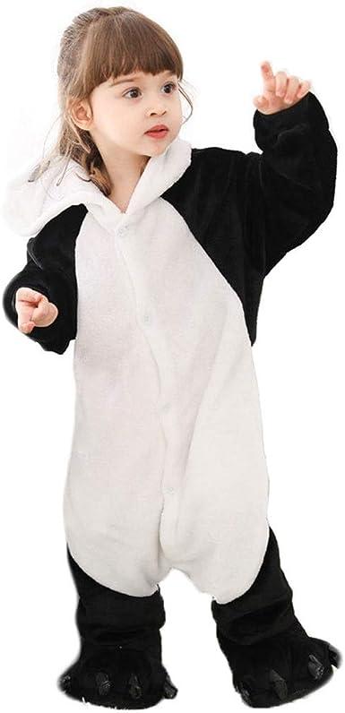Pijamas de Animales para niños Panda Animal del Traje de ...