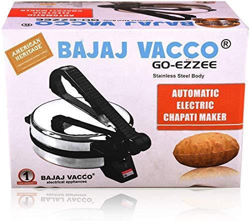 "BAJAJ VACCO®""Go-Ezzee"" Chapati/Roti/Khakhra Maker C-02 Wattage 900 6"
