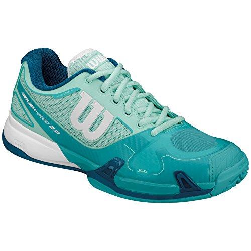 Tennis Wilson W White 2 Wh Women's Pro 0 Rush Blue B0waBqH