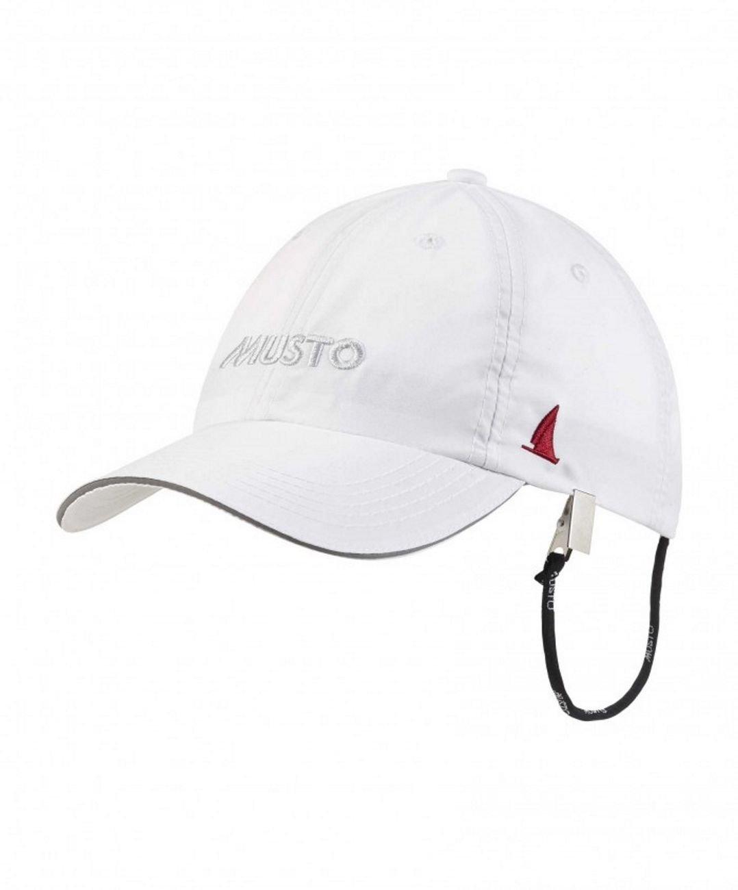 2016 Musto Fast Dry Crew Cap in White AL1390