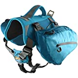 Kurgo Baxter Dog Backpack, Coastal Blue - Lifetime Warranty