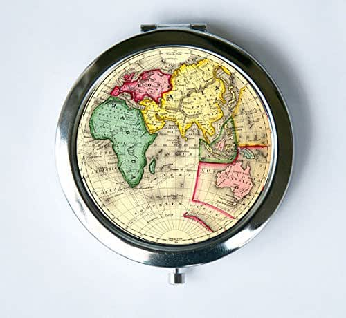 Amazon Com Eastern Hemisphere Compact Mirror Pocket Mirror 1800s