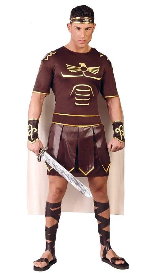 FIESTAS GUIRCA Traje Adulto de Gladiador Romano: Amazon.es ...
