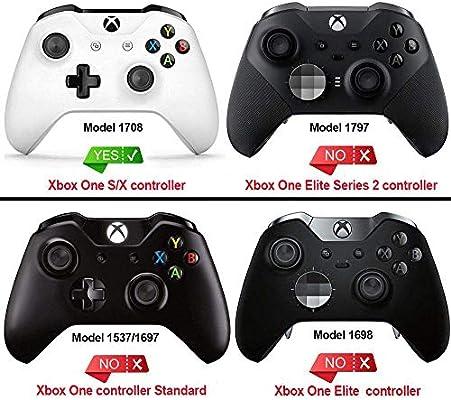eXtremeRate Carcasa para Controlador Xbox One Funda Delantera ...