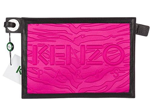 Kenzo bolso de mano pochette mujer nuevo fuxia