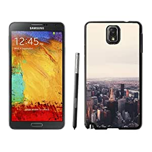 Unique Designed Cover Case For Samsung Galaxy Note 3 N900A N900V N900P N900T With Mo Jonas Nillson Newyork City Sky Phone Case