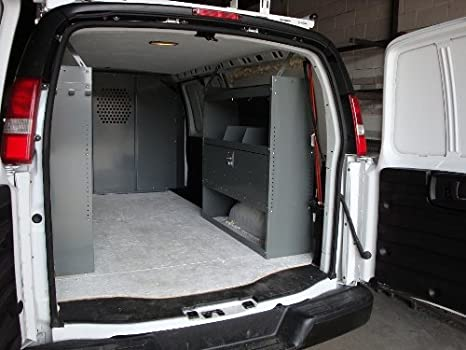 True Racks Van Shelving Storage System - Package 3 pc  Set for Full Size Van