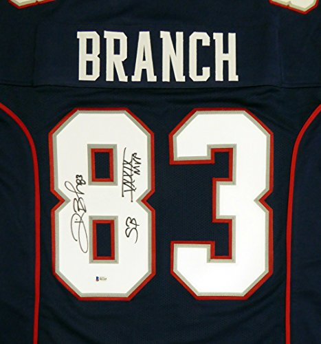 New England Patriots Deion Branch - 4