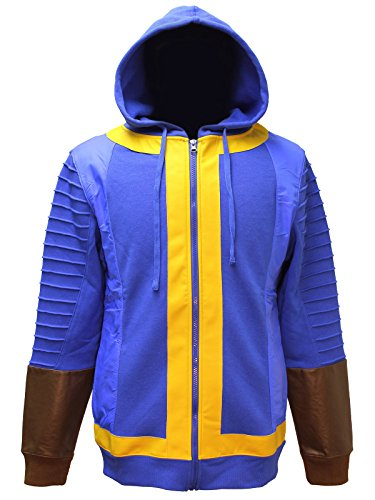 Fallout Guy Costume (Fallout 4 111 Mens Costume Hoodie L)