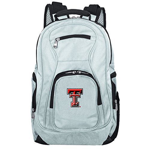 (NCAA Texas Tech Red Raiders Voyager Laptop Backpack, 19-inches, Grey)
