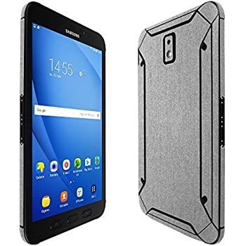 """Skinomi Brushed Steel Skin Cover for Samsung Galaxy Tab S5e 10.5/"""", SM-T725"""