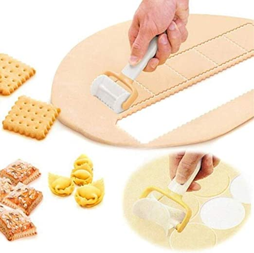 3pcs//set Cookie Round Square Rolling Biscuit Cutting Pastry Dough Cutter