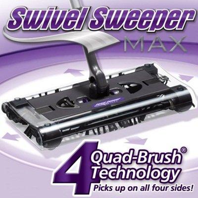 Swivel Sweeper Max in Eggplant