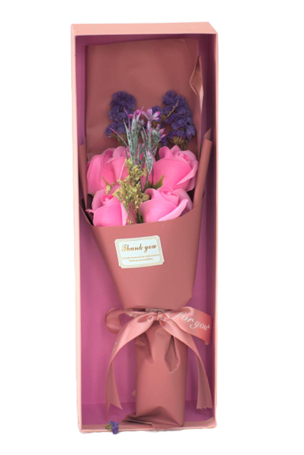 Buy Tgm Artificial Flower Bouquet For Gift Valentine Gifts For Girlfriend Girls Boyfriend Boys Husband Wife Best Birthday Gifts Online Pink Online At Low Prices In India Amazon In