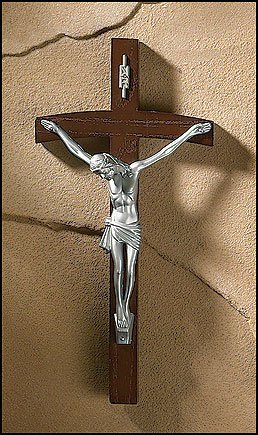 Papal Wall Crucifix of Pope John Paul ()