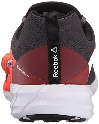 Reebok Femmes Zpump Fusion 2.0 Tricot Chaussure De Course Gris Cendré / Atomique Rouge / Merlot / Requin / Noir / Blanc