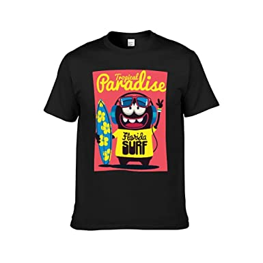 Estudiantes Camiseta de Manga Corta para Hombre Camiseta de ...