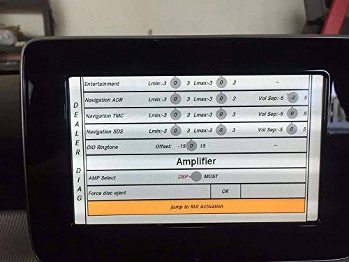 Mercedes NTG5 1 CarPlay Androidauto Activation via OBD2