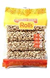 Kim's Magic Pop Crunchy Roll Whole Wheat Flavored Snack, Vegan, All Natural (1 Pack of 8 Wheat Rolls) For Sale