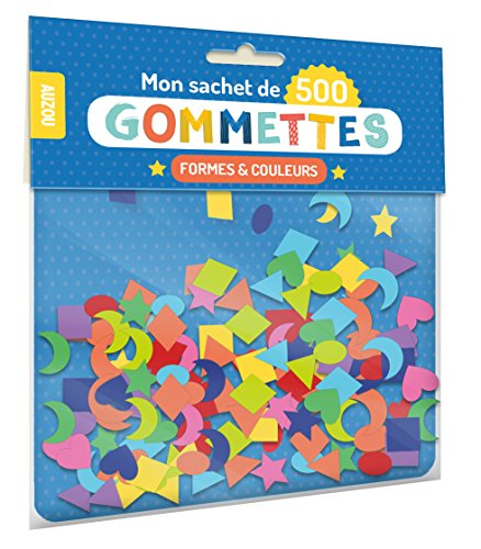 (Mon sachet de 500 gommettes formes et couleurs )