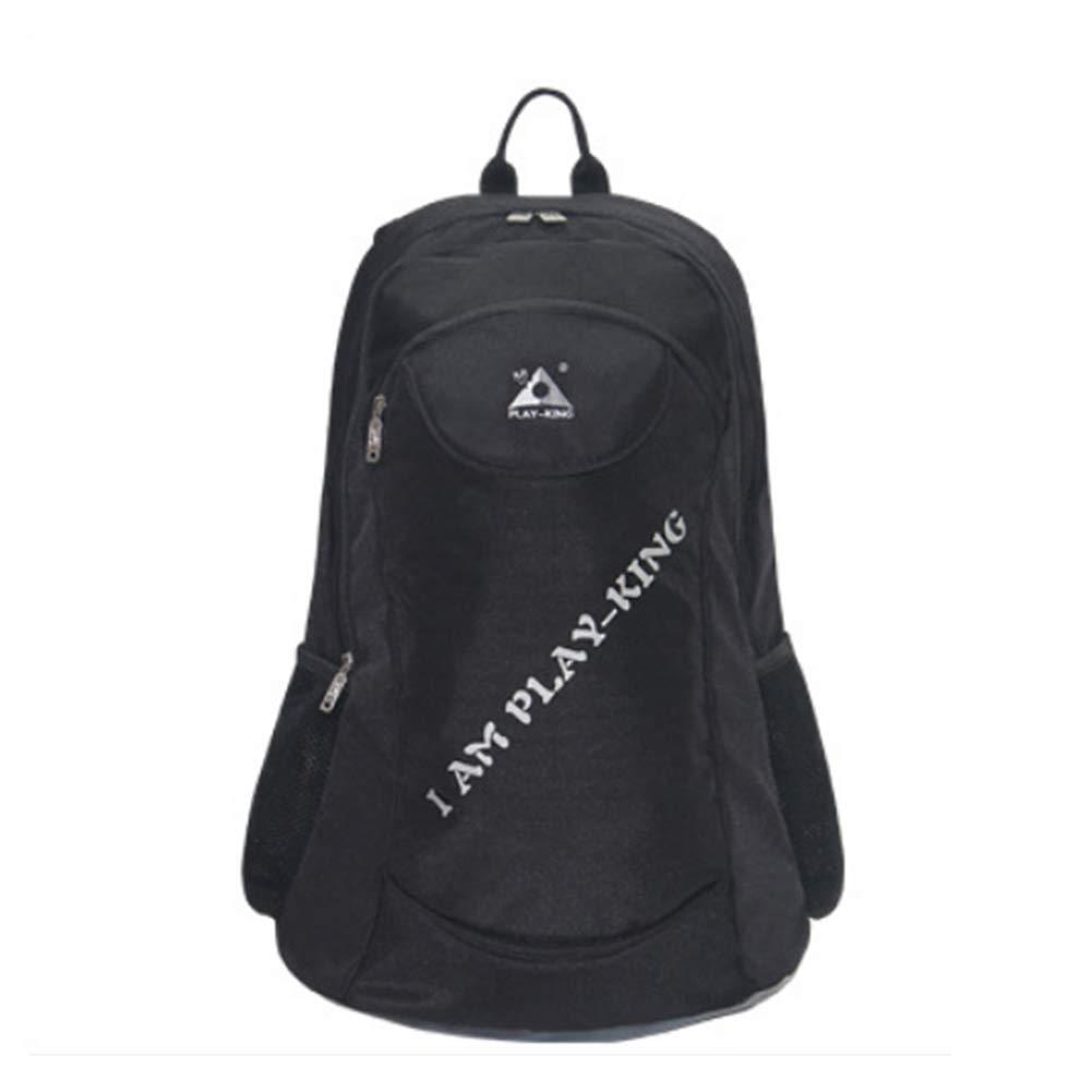 TZTED アウトドアバックパック 折りたたみ式 チェア 釣り 登山 登山 ユーザーチェア バックパック B07GCPTRQH ブラック