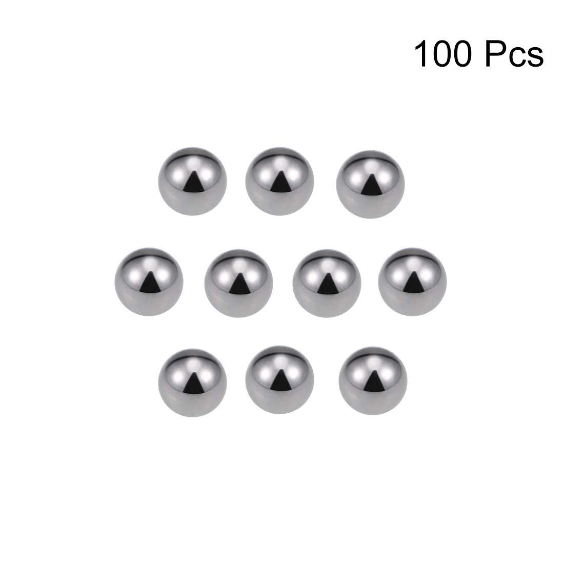 sourcing map 1//2 Carbon Steel Bearing Balls Precision Balls 25pcs